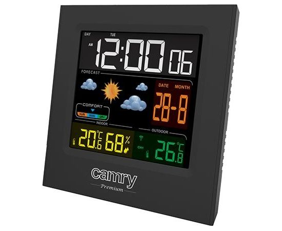 Camry CR 1166 Weather station, Black