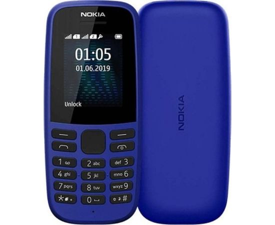 Nokia 105 (2019) Single SIM TA-1203 Blue