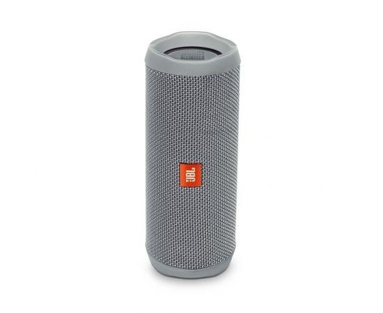 JBL FLIP 4 Grey bluetooth portatīvā skanda, mitrumizturīga