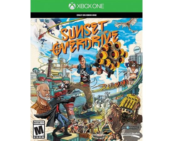 Microsoft Xbox One Sunset Overdrive US Version