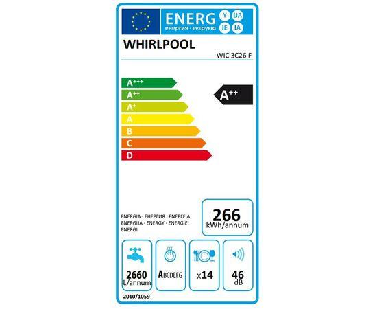 WHIRLPOOL WIC3C26F