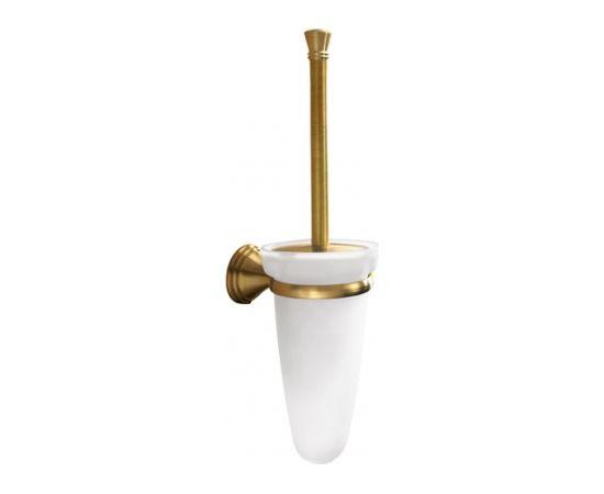 Gedy tualetes birste ar turētāju Romance, bronza