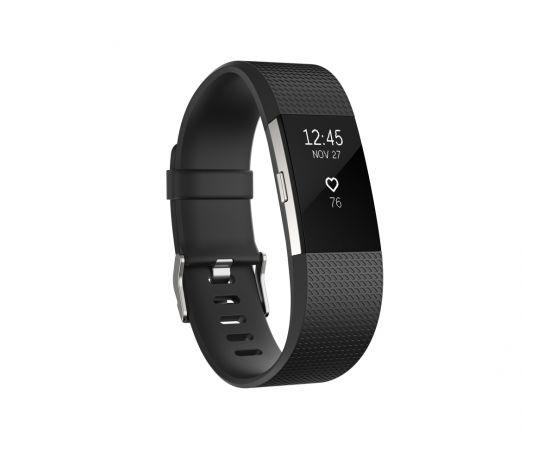 FitBit Charge 2 Bracelet large FB407SBKL-EU Black