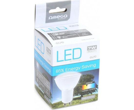 Omega LED spuldze GU10 7W 2800K (42556)