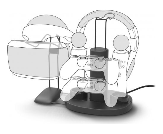 Speedlink pults uzlādes stacija VReady (SL-450002-BK)