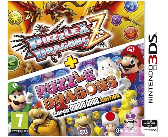 Nintendo 3DS Puzzle and Dragons Z + Puzzle and Dragons Super Mario Bros. Edition