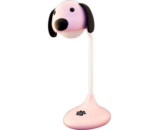 Galda lampa bērnu Lucia 110 Suns rozā