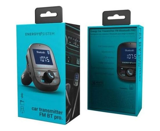 Energy Sistem Car Transmitter FM PRO Bluetooth, FM, USB connectivity