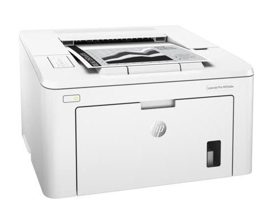HP LaserJet Pro 200 M203dw lāzerprinteris USB 2.0 WiFi ETH Duplex