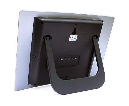Omega PZACH104 Digitālā Laika Stacija nosaka Iekštelpu temperatūru / Termometrs / Kalendārs / Pulkstenis / Modinātājs / LCD