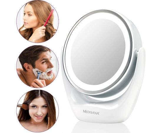 Medisana High-quality chrome finish,  CM 835  2-in-1 Cosmetics Mirror, 12 cm