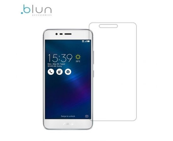 Blun Extreeme Shock 0.33mm / 2.5D Aizsargplēve-stikls Asus Zenfone 3 Max ZC520TL (EU Blister)