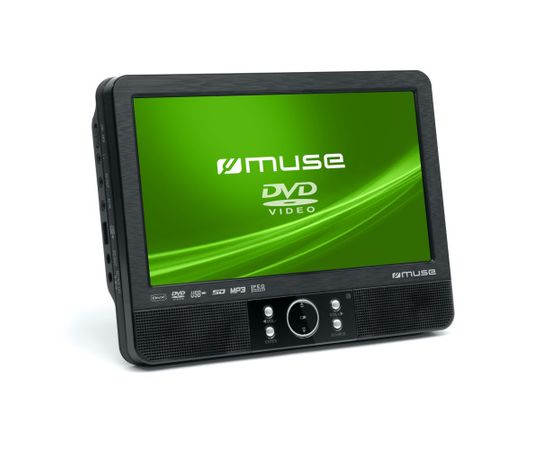 Muse DVD Player for vehicles. M-990CVB 2pcs separate players set.  Speakers, USB connectivity, MP3, JPEG and DivX playback