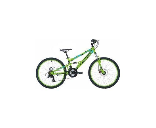 Atala Storm Disk 21ātr. (III) ZaļaMeln. 0115253500 velosipēds