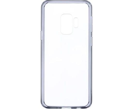 Devia Shockproof Aizmugurējais Silikona Apvalks priekš Samsung N960 Galaxy Note 9 Caurspīdīgs - Melns