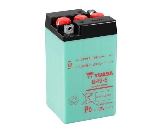 8.4Ah 6V Yuasa (CP) Moto akumulators 91x83x161mm