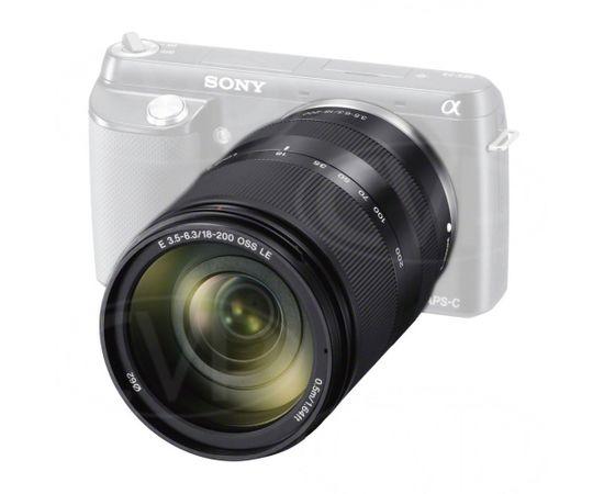 Sony E SEL-18200LE MILC, 17/13, Telephoto lens, 6,3, 0,5 m (Ir veikalā)