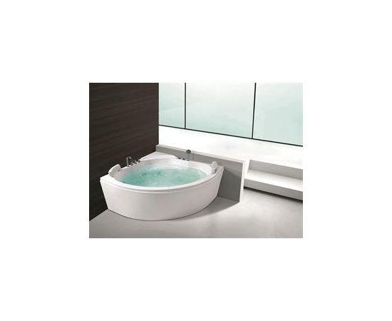 Stūra masāžas vanna VENTO, 1500x1500x750mm