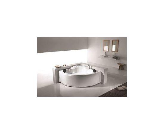 Vento Stūra masāžas vanna ar maisītāju 1500x1500x700