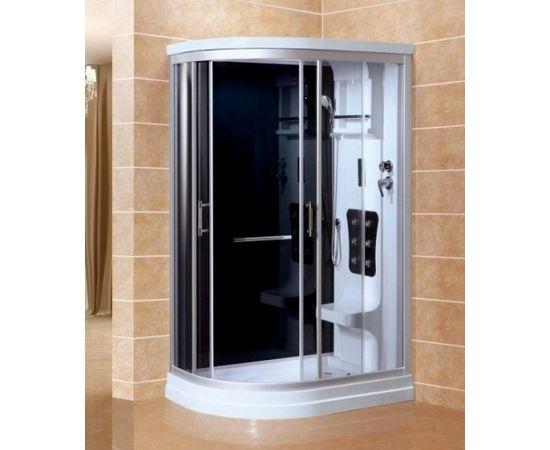 Masāžas dušas kabīne VENTO SICILIA 80x120x215cm, labais izpildījums