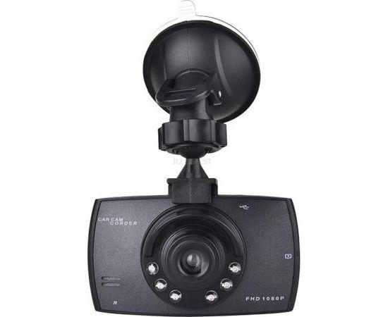 RoGer VR Auto video reģistrātors Full HD / microSD / LCD 2.7'' + Turētājs
