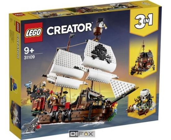 LEGO Creator 31109 Pirate Ship