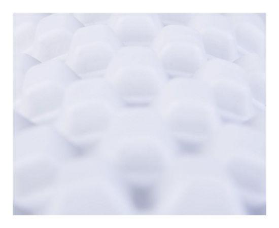 Spokey SMTEEL Roller, 33.5 x 10 cm, Grey, PU Foam, PVC