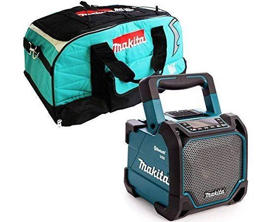 Makita Makita DMR202, Speaker(turquoise / black, jack, USB, Bluetooth)
