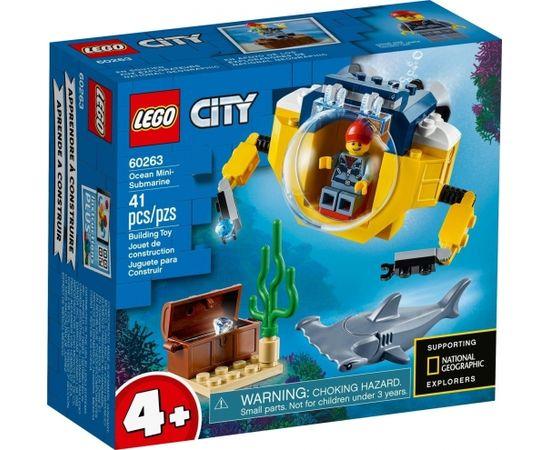 LEGO City 60263 Ocean Mini-Submarine