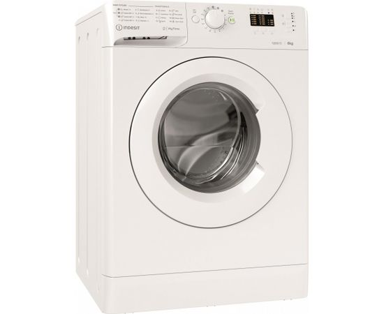 Indesit MTWA 61251 W EE veļas mazg. mašīna 6kg 1200apgr.
