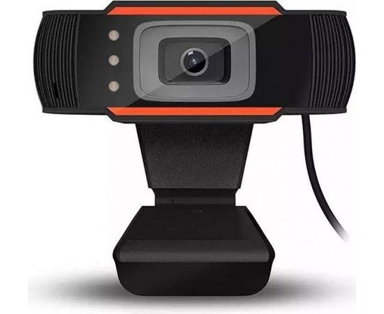 RoGer A7 Web Kamera HD 720P ar Mikrofonu Melna