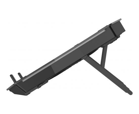 Omega laptop cooler pad 45425, black