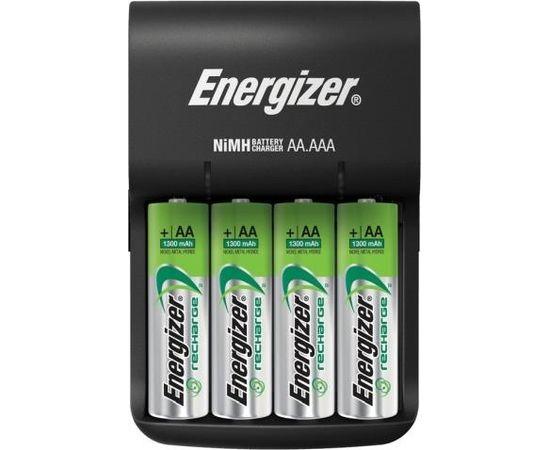 Energizer BASE LĀDĒTĀJS AA/AAA AR 4 AA 1300MAH AKUMULATORIEM