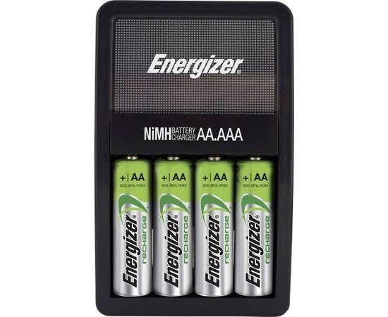 Energizer Maxi lādētājs AA/AAA ar 4 AA 2000mAh akumulatoriem
