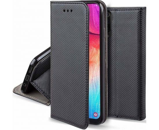 Fusion Magnet Case Grāmatveida Maks Priekš Xiaomi Redmi 8 Melns