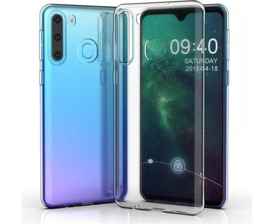 Fusion Ultra Back Case 2 mm Izturīgs Silikona Aizsargapvalks Priekš Samsung G770 Galaxy S10 Lite Caurspīdīgs
