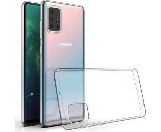 Fusion Ultra Back Case 0.3 mm Izturīgs Silikona Aizsargapvalks Priekš Samsung G988 Galaxy S20 Ultra Caurspīdīgs