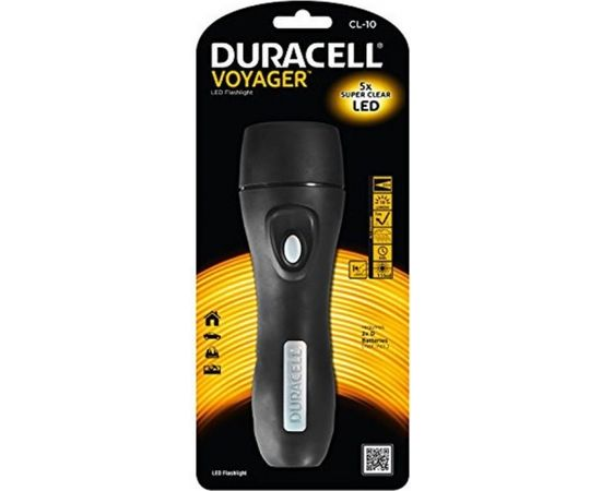 Lukturītis Duracell LED 75lm 4xAA Voyager (FLN-2)