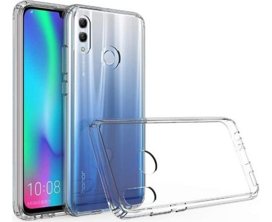 Fusion Ultra Back Case 0.3 mm Izturīgs Silikona Aizsargapvalks Priekš Huawei P Smart 2019 Caurspīdīgs