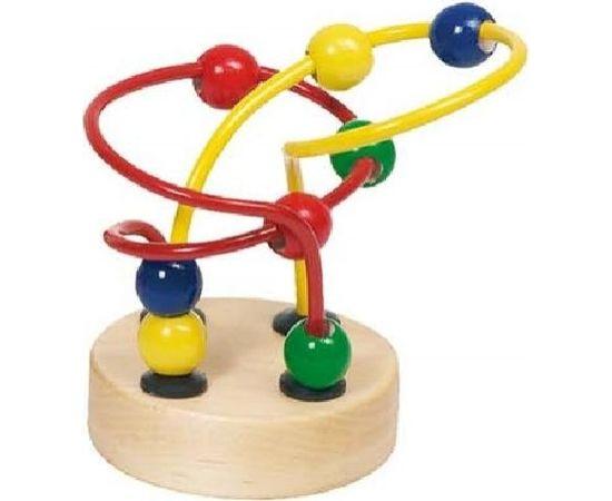 Goki Mini Bead Art.VG59994 Attīstoša koka rotaļlieta