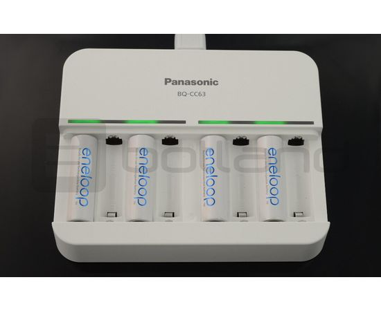 Panasonic Eneloop Charger BQ-CC63 AA/AAA