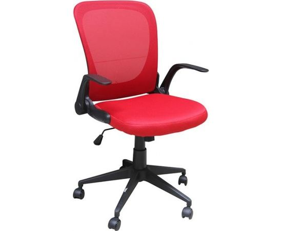Krēsls SAKRAMENTO sarkans/melns