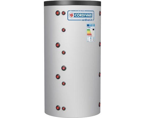 Cordivari akumulācijas tvertne PUFFER VC 800L, ar izolāciju 3bar, (Tmax 99 °C)