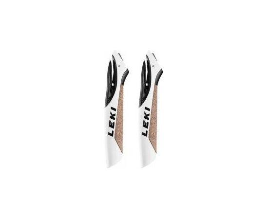 Leki Rokturis CorTec Shark Grip  White/Black