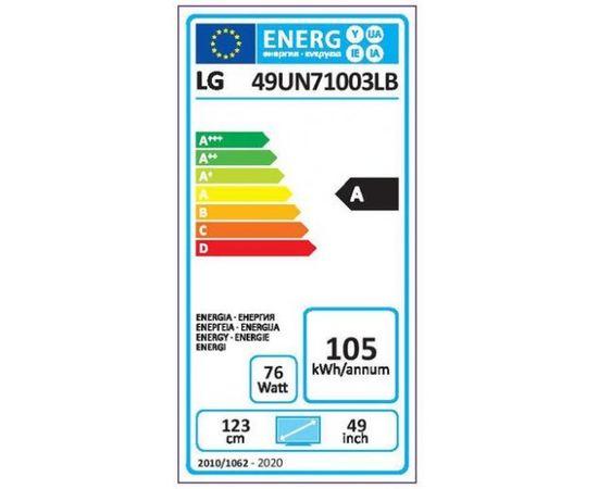 """LG 49UN71003LB 49"""" Ultra HD 4K LED televizors"""