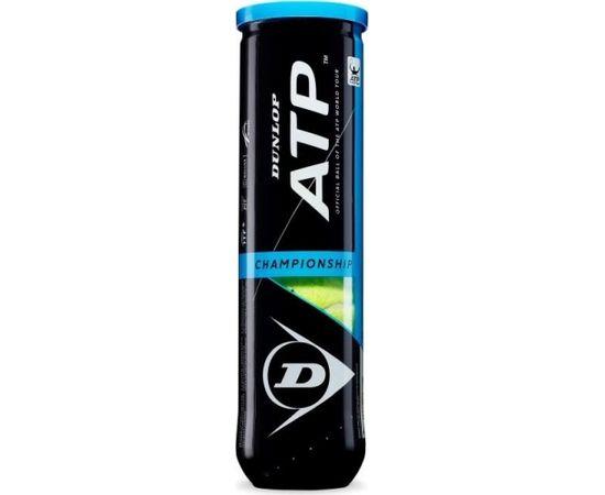 Tennis balls Dunlop ATP CHAMPIONSHIP LowerMid 4-tube ITF