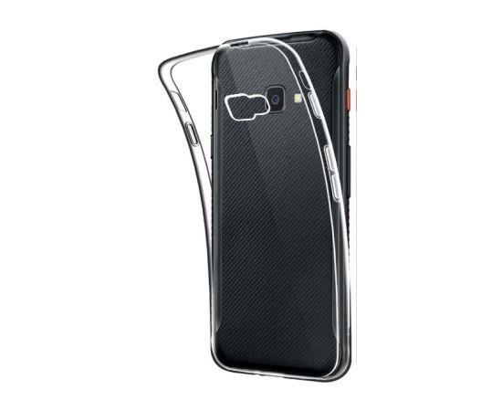 Fusion Ultra Back Case 0.3 mm izturīgs Silikona Aizsargapvalks Priekš Samsung G398 Galaxy Xcover 4S / G390 Xcover 4 Caurspīdīgs