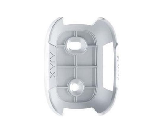 AJAX holder for button or double button (white)