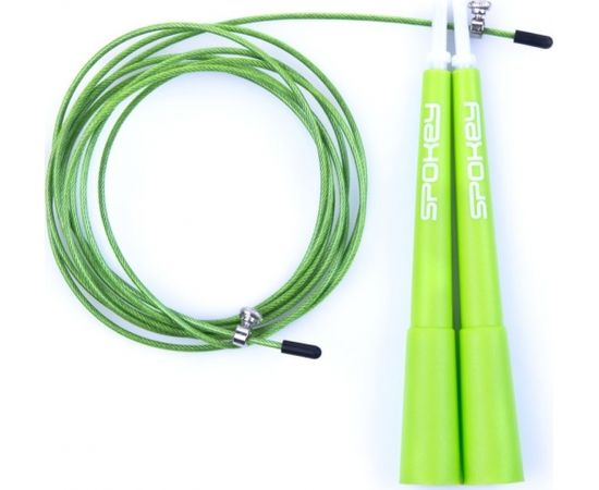 Spokey Skakanka stalowa CrossFit II zielona