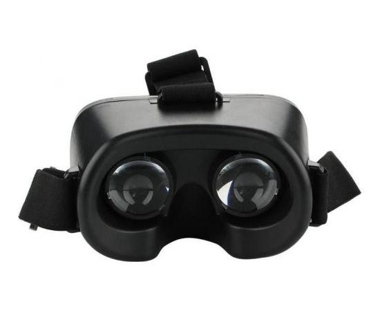 RoGer VR Mini Virtuālās Realitātes Brilles Smartfoniem Līdz 6.0 collam Melnas